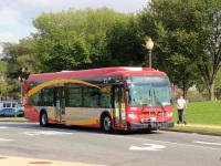 Вашингтон. New Flyer XDE40 B 48523
