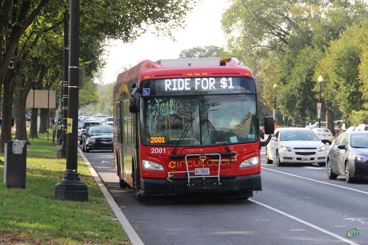Вашингтон. New Flyer XDE40 B 48516