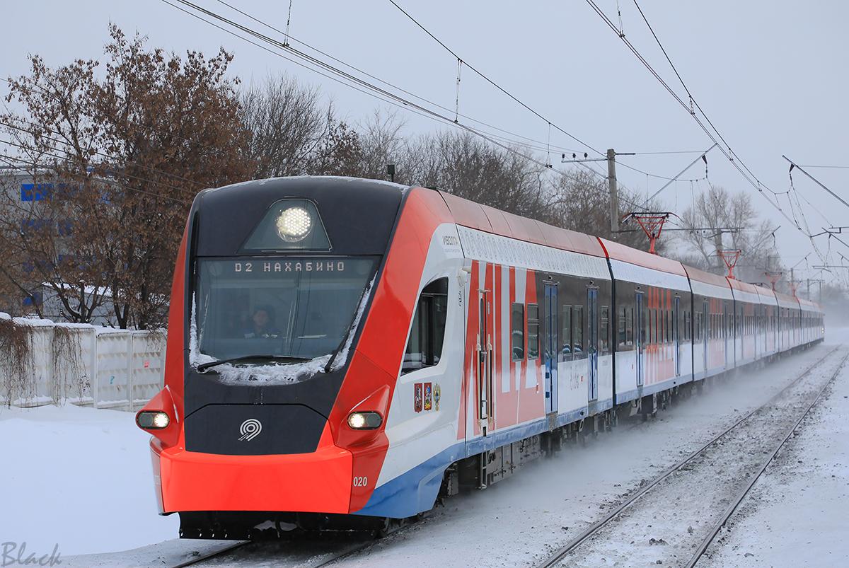 Москва. ЭГ2Тв-020 Иволга