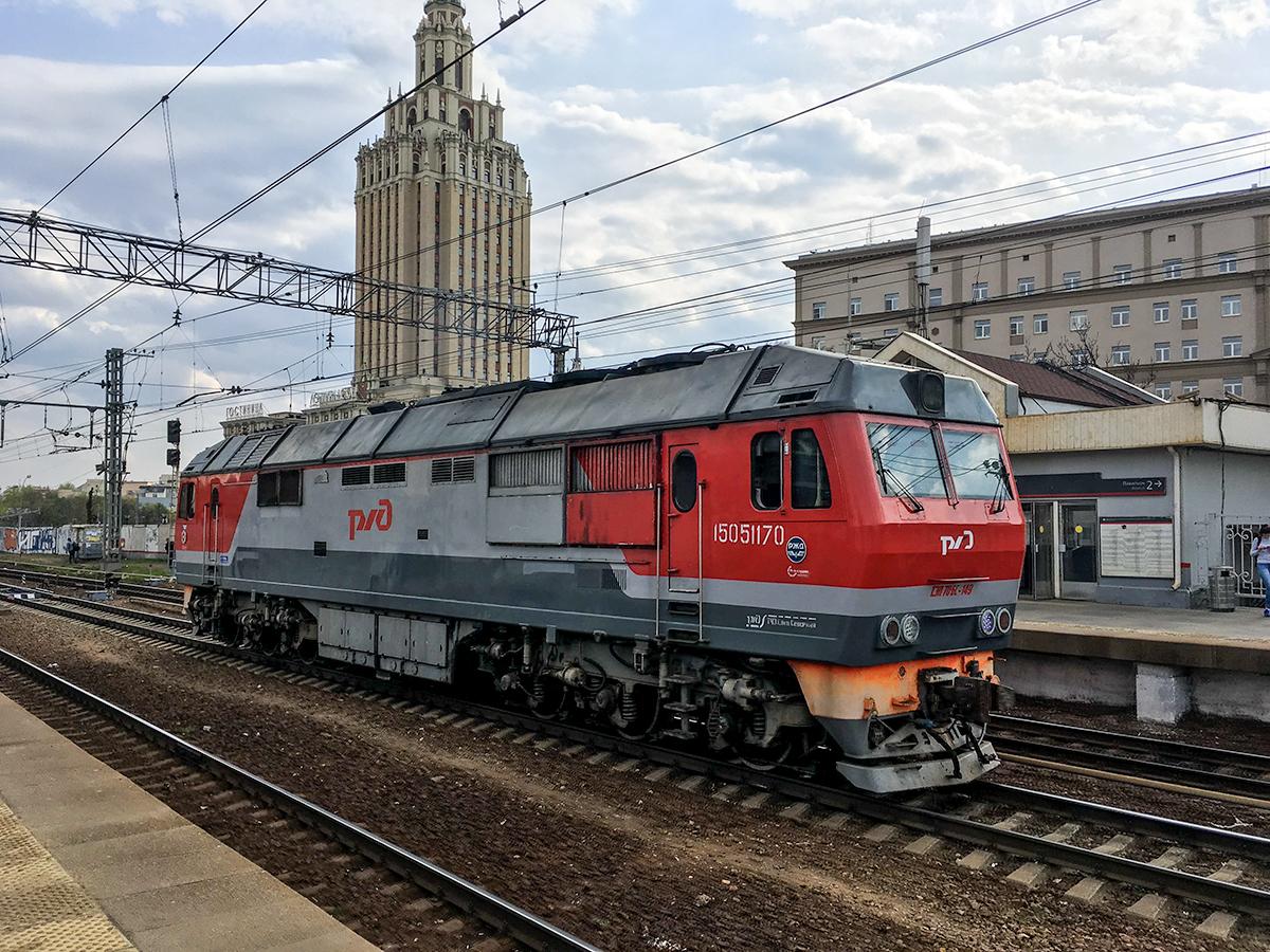 Москва. ТЭП70БС-149