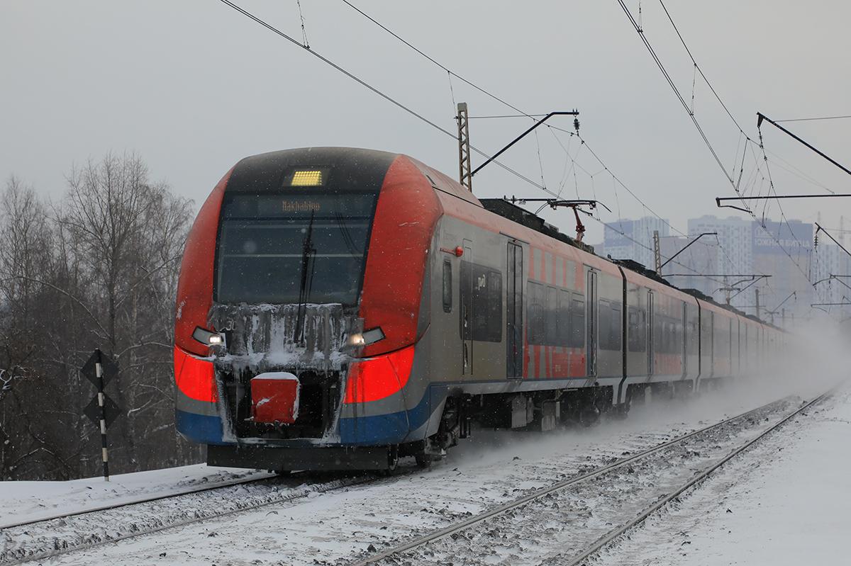 Москва. ЭС2Г-131 Ласточка