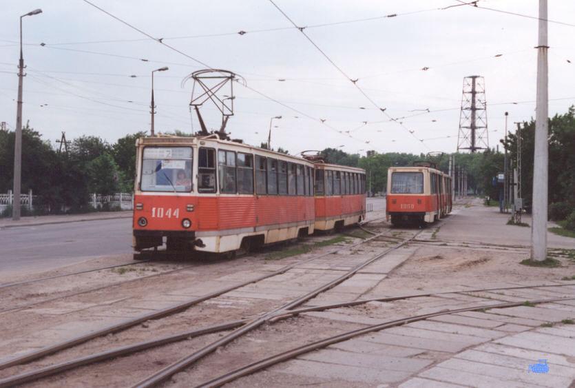 Каменское. 71-605А (КТМ-5А) №1044, 71-605А (КТМ-5А) №1043