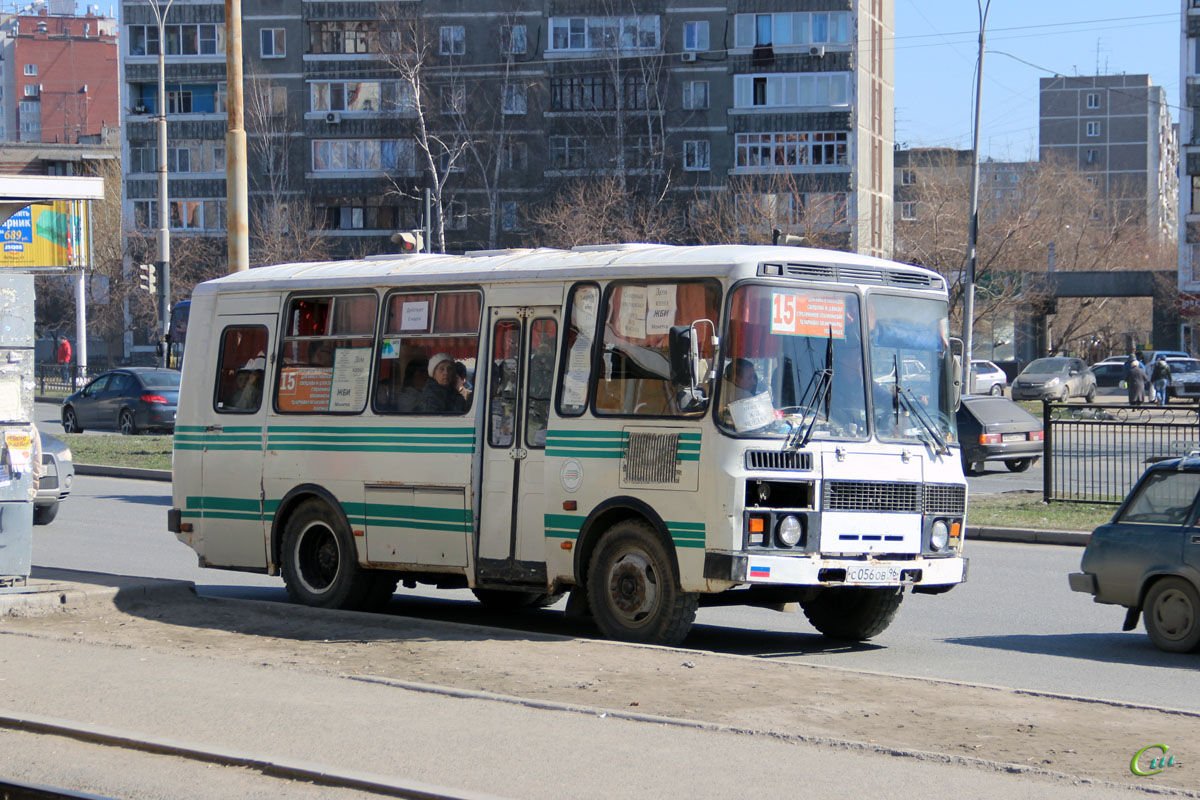 Екатеринбург. ПАЗ-32053 с056ов