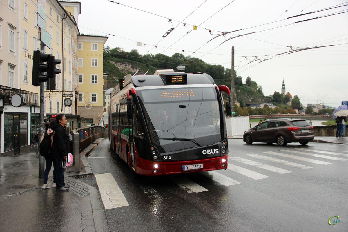 Зальцбург. Solaris Trollino 18 AC MetroStyle №362