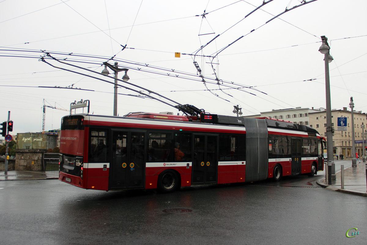 Зальцбург. Solaris Trollino 18 AC MetroStyle №336