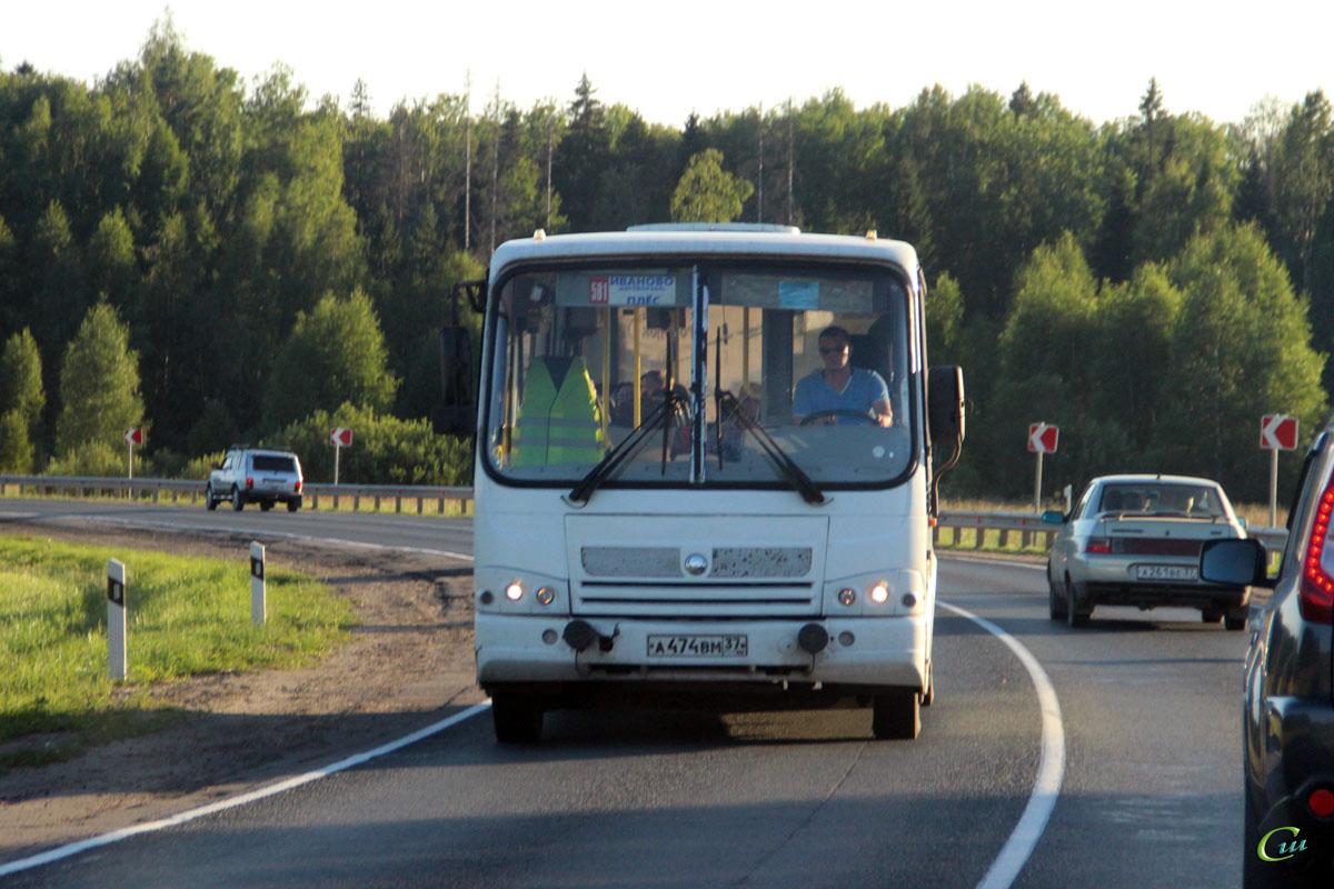 Иваново. ПАЗ-320412-05 а474вм