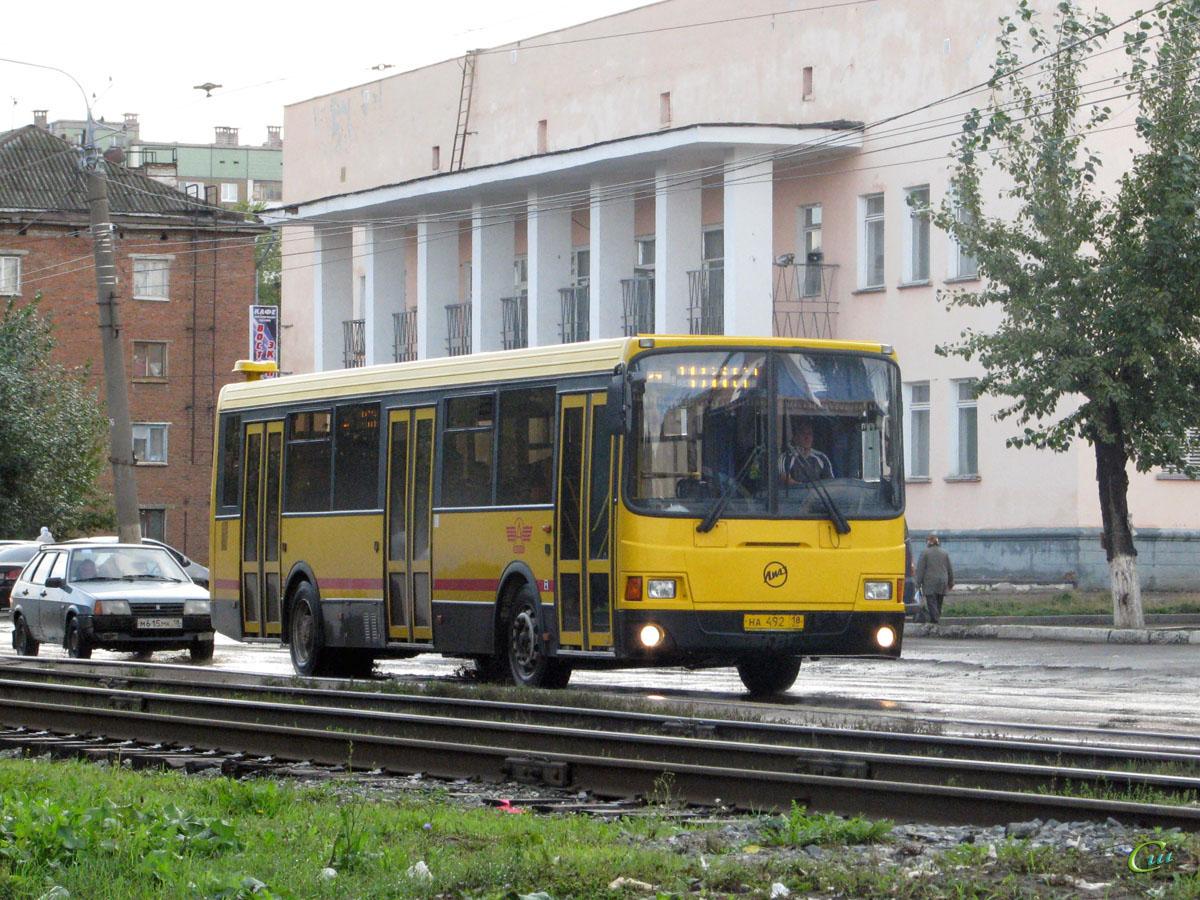 Ижевск. ЛиАЗ-5256.53 на492