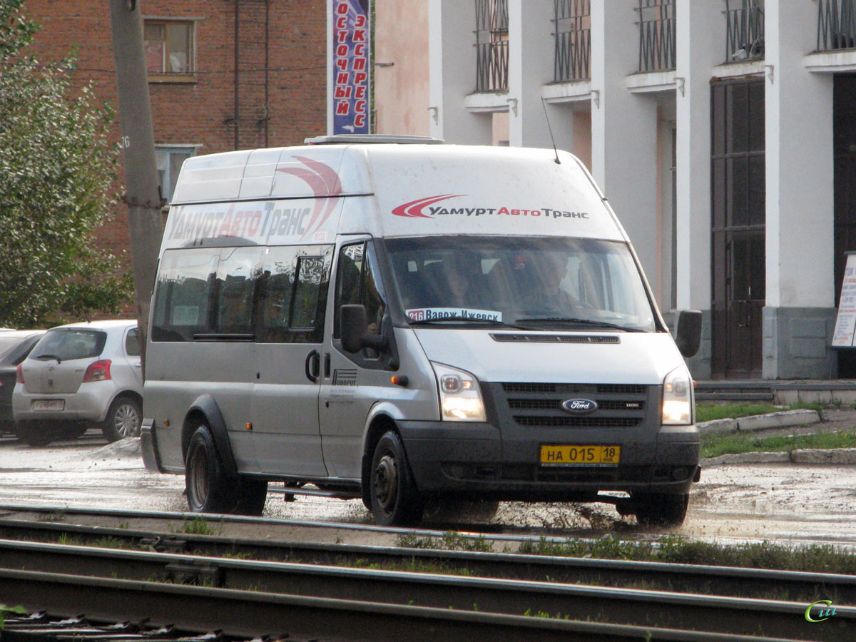 Ижевск. Нижегородец-2227 (Ford Transit) на015