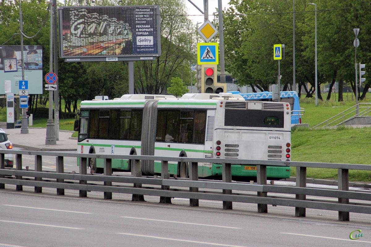 Москва. ЛиАЗ-6213.21 ер138