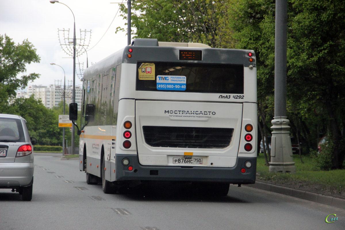 Москва. ЛиАЗ-4292.60 р876нс