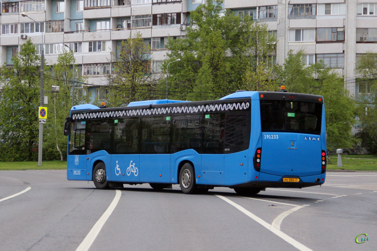 Москва. НефАЗ-5299-40-52 (5299JP) ро553