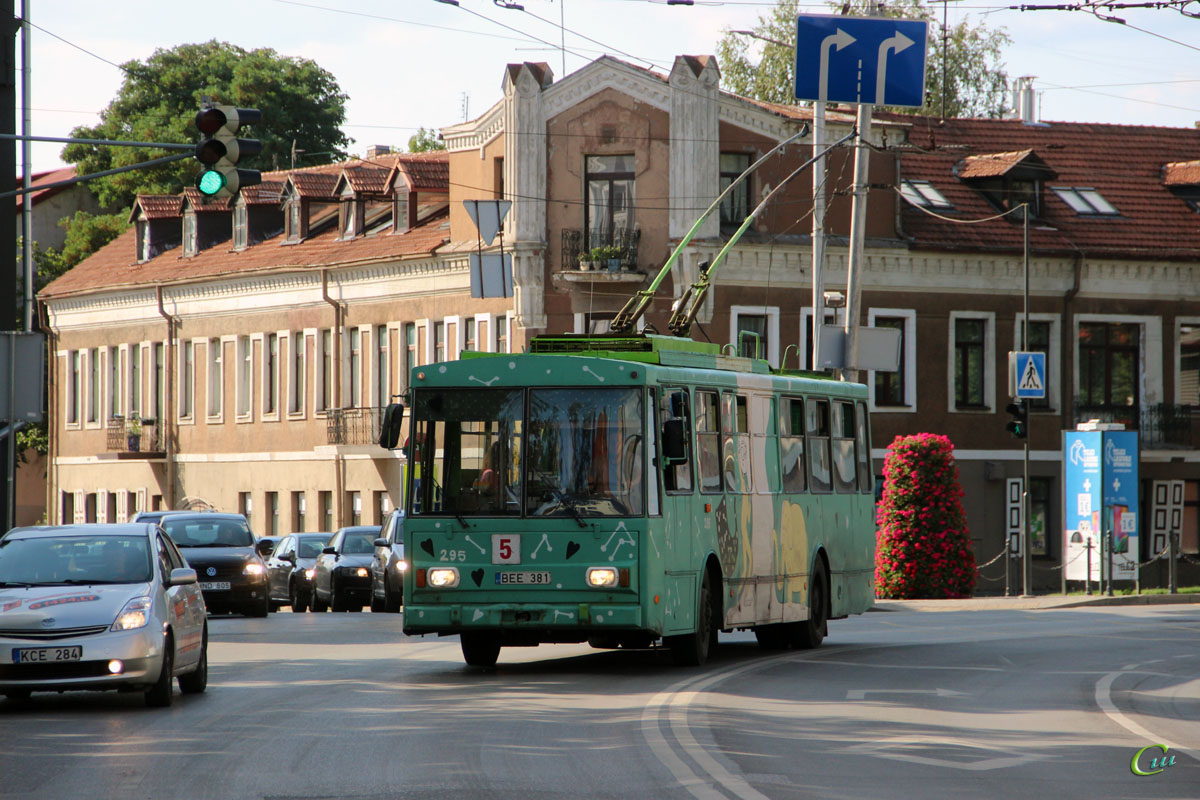 Каунас. Škoda 14Tr02/6 №295