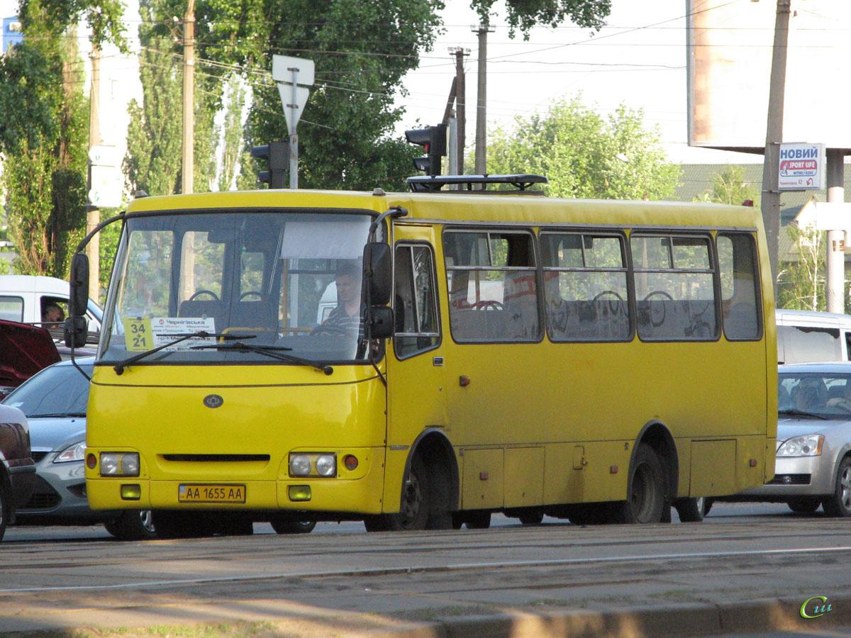 Киев. Богдан А09202 (ЛуАЗ) AA1655AA