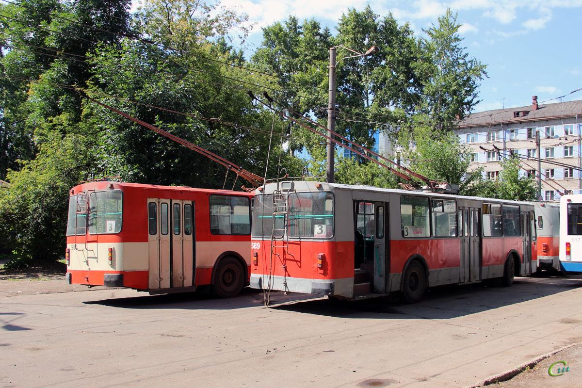Киров. ЗиУ-682В №589, ЗиУ-682В-012 (ЗиУ-682В0А) №514