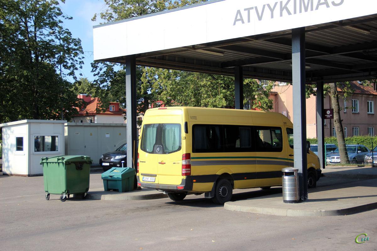 Клайпеда. Universāls (Mercedes-Benz Sprinter 315CDI) GRK 669