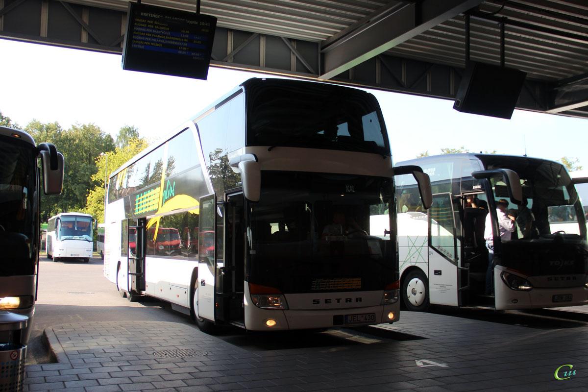 Клайпеда. Setra S431DT JEL 430