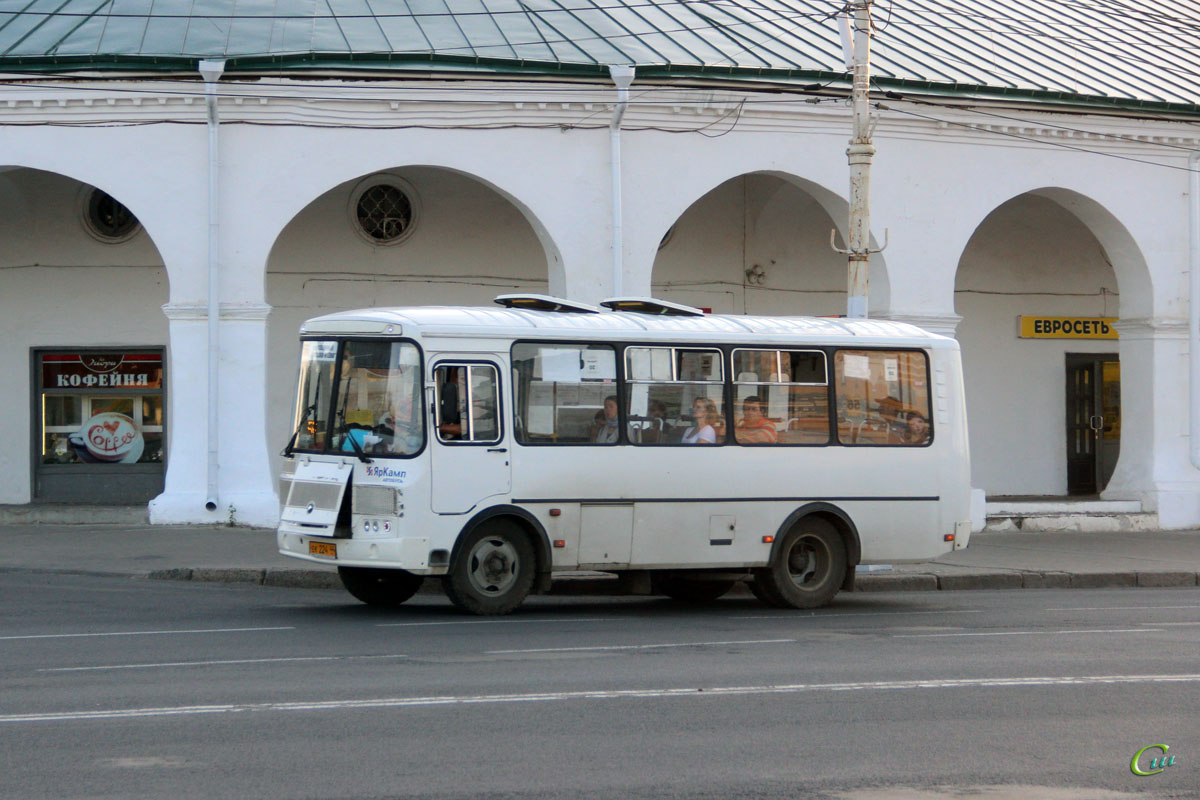 Кострома. ПАЗ-32054 ек224