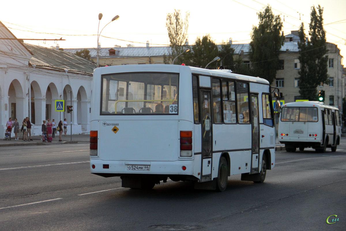 Кострома. ПАЗ-320402-05 о524мк