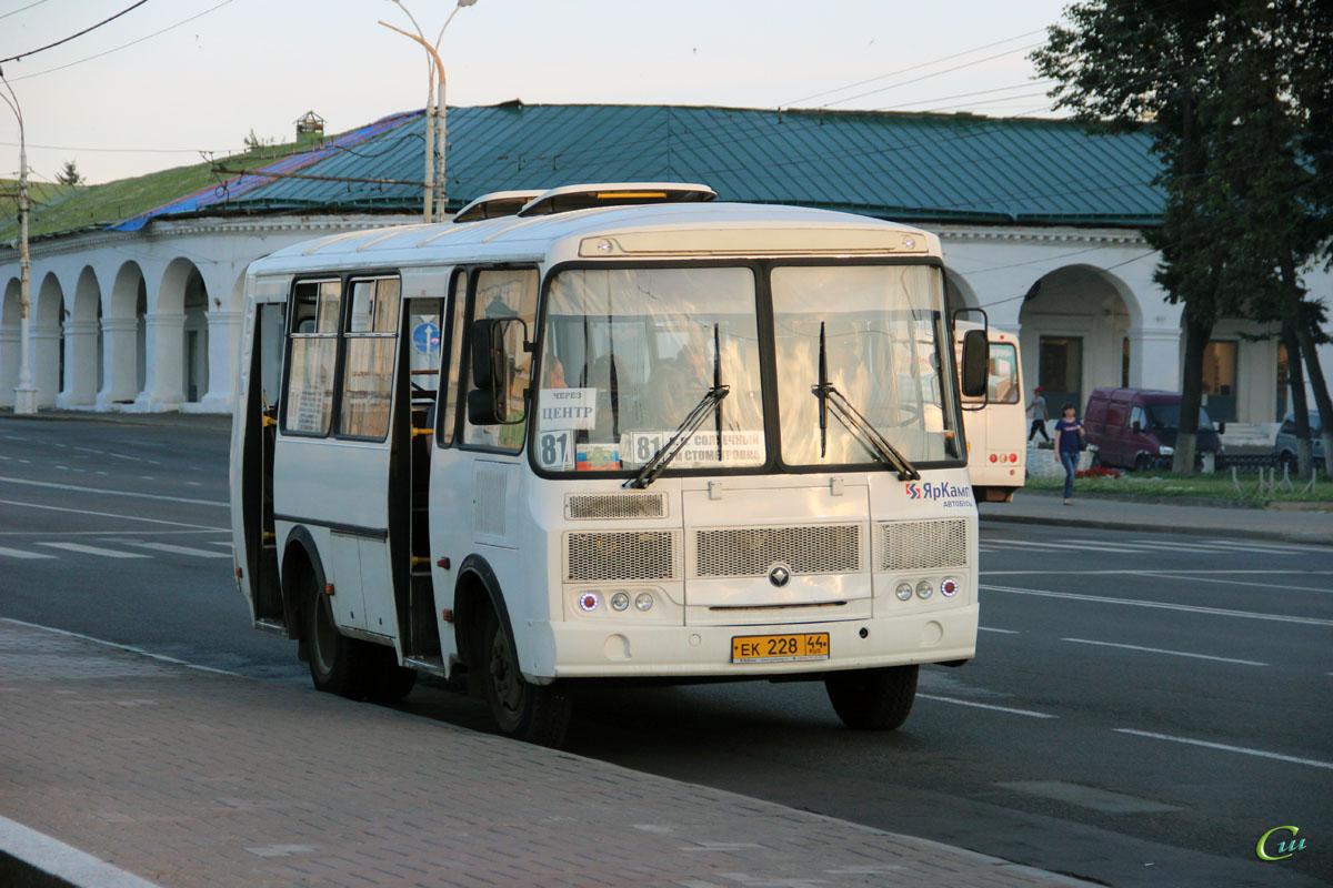 Кострома. ПАЗ-32054 ек228