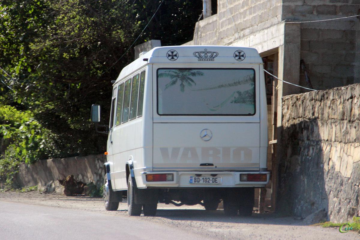Кутаиси. Mercedes-Benz Vario O814 BD-102-DE