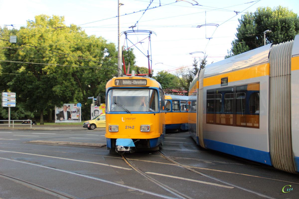 Лейпциг. Tatra T4D-M1 №2142