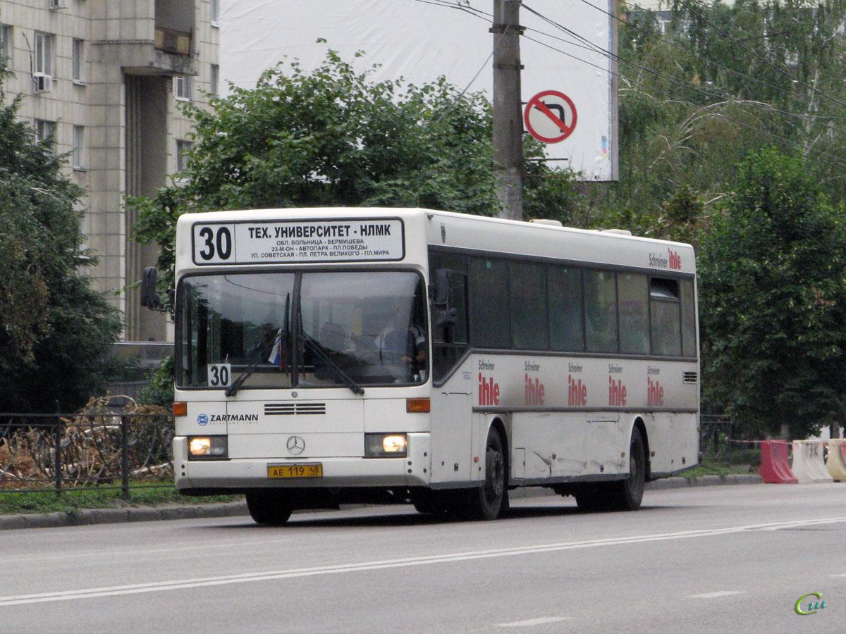 Липецк. Mercedes-Benz O405 ае119