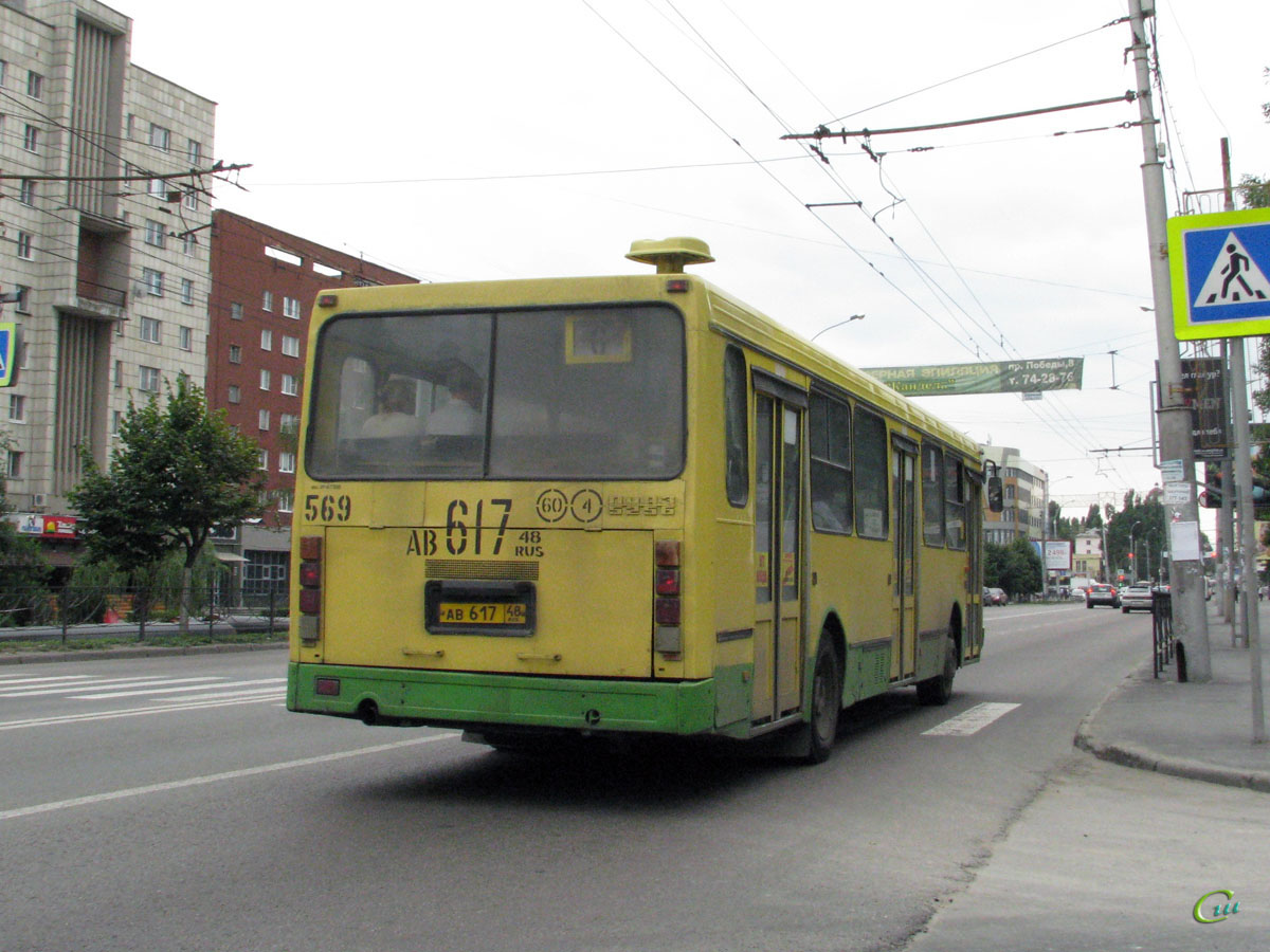 Липецк. ЛиАЗ-5256.45 ав617