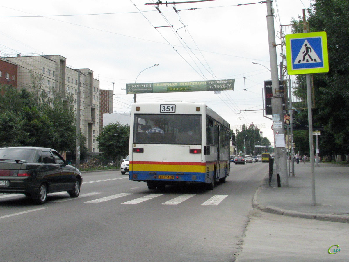 Липецк. Mercedes-Benz O405 ае251