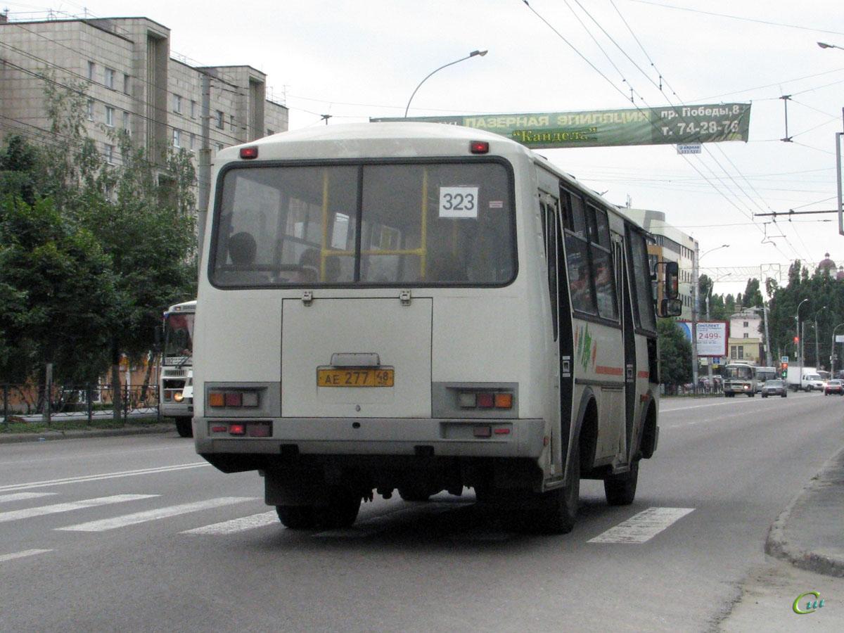 Липецк. ПАЗ-32054 ае277