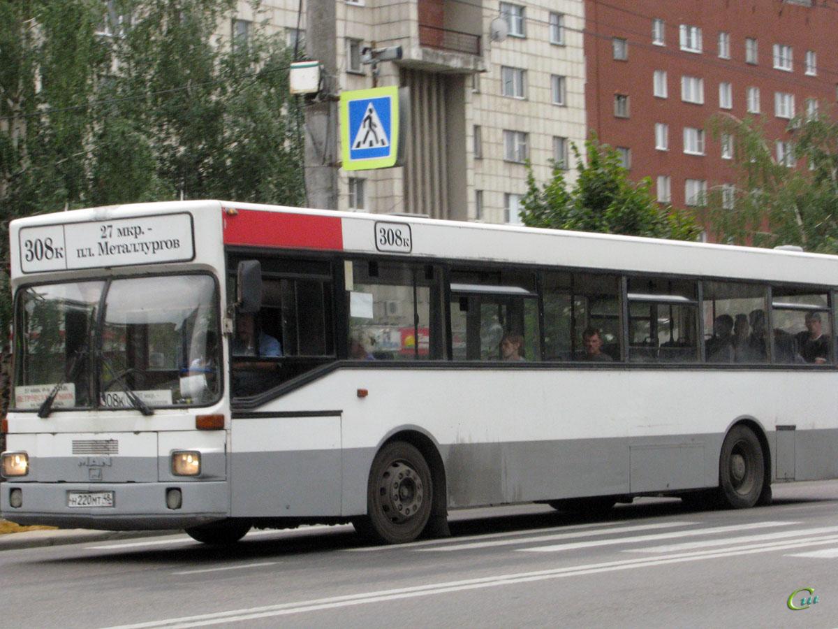 Липецк. MAN SL202 н220мт