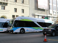 Лос-Анджелес. NABI 42-BRT CNG 1421592