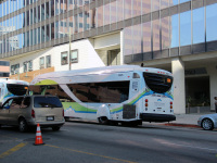 Лос-Анджелес. NABI 42-BRT CNG 1421635
