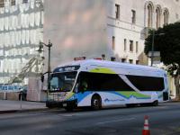 Лос-Анджелес. NABI 42-BRT CNG 1381905