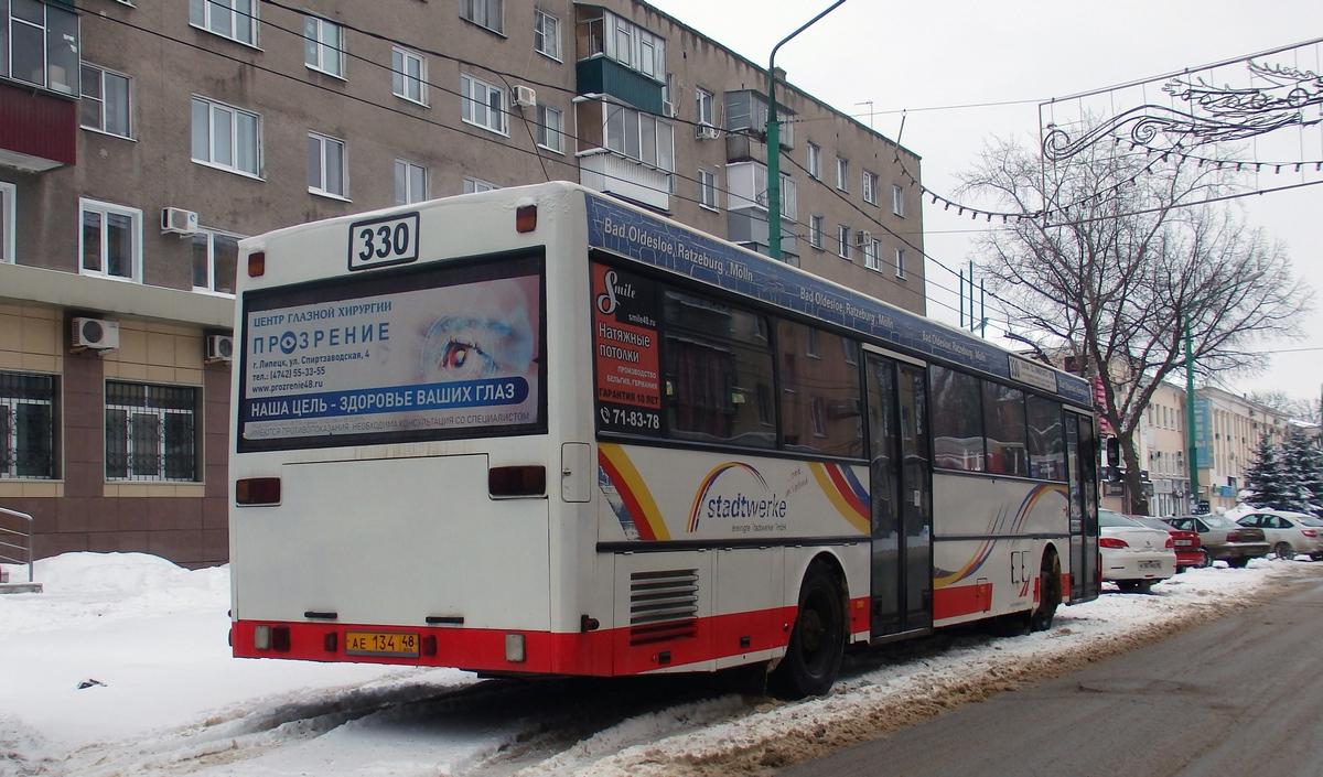 Липецк. Mercedes-Benz O405 ае134