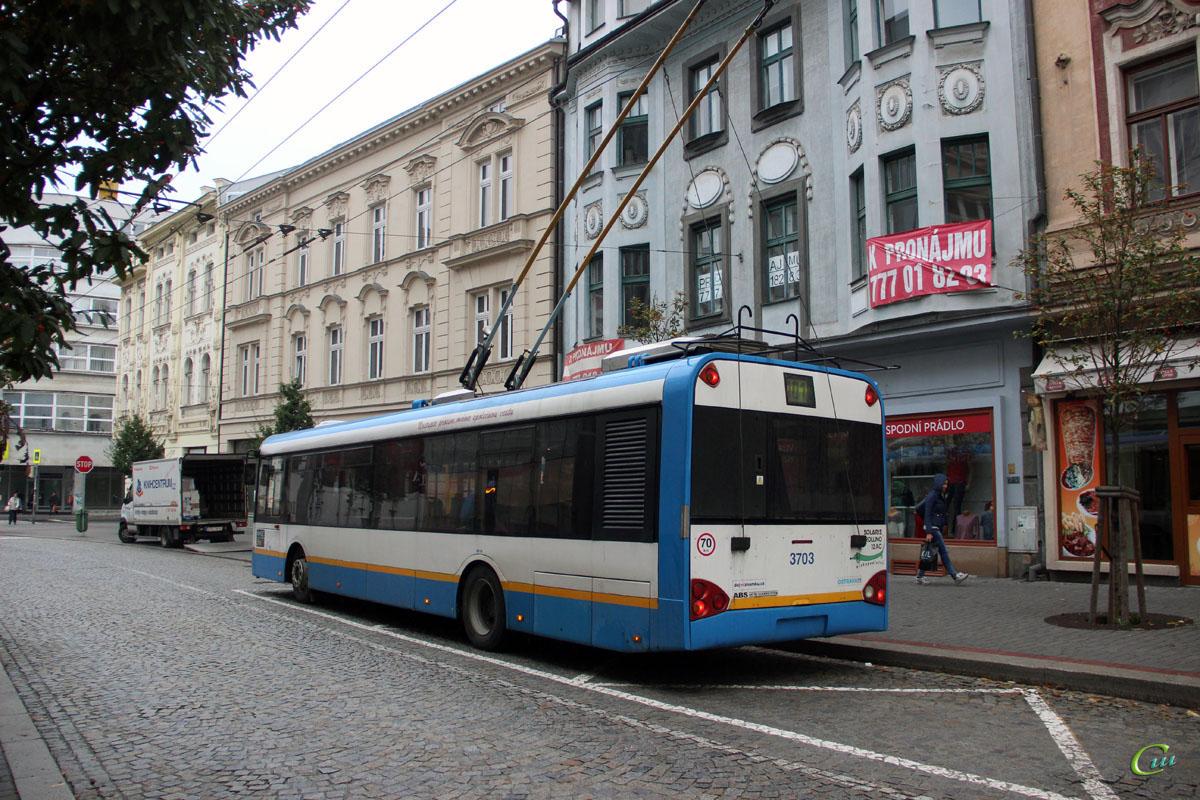 Острава. Solaris Trollino 12 №3703