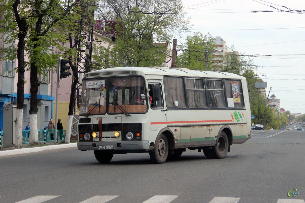 Саранск. ПАЗ-32054 е278ст