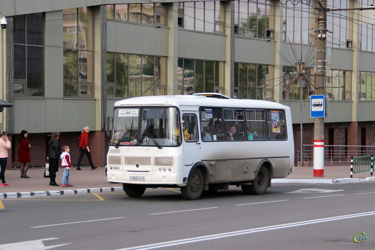 Саранск. ПАЗ-32054 к952ра