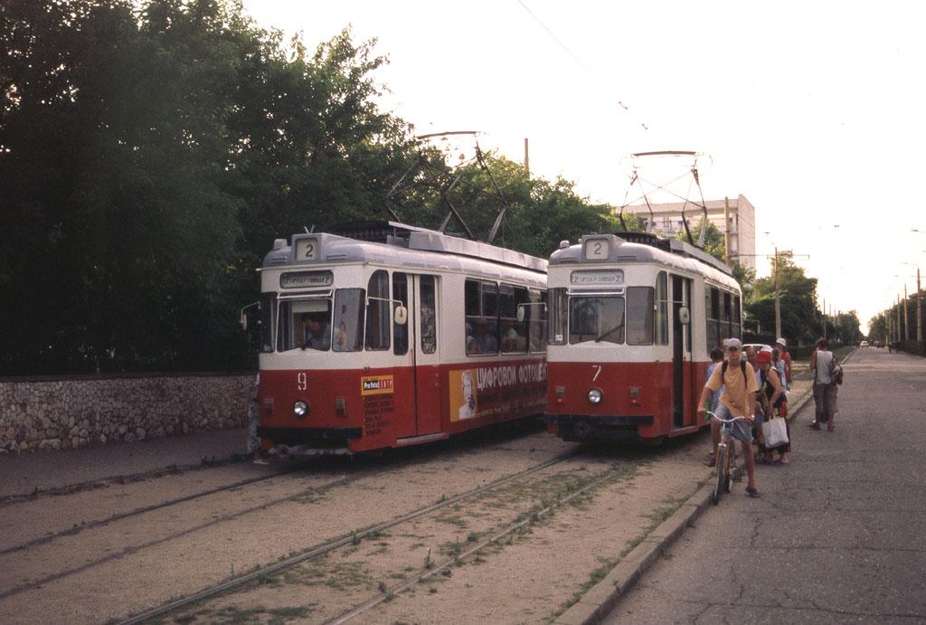 Евпатория. Gotha T57 №7, Gotha T57 №9
