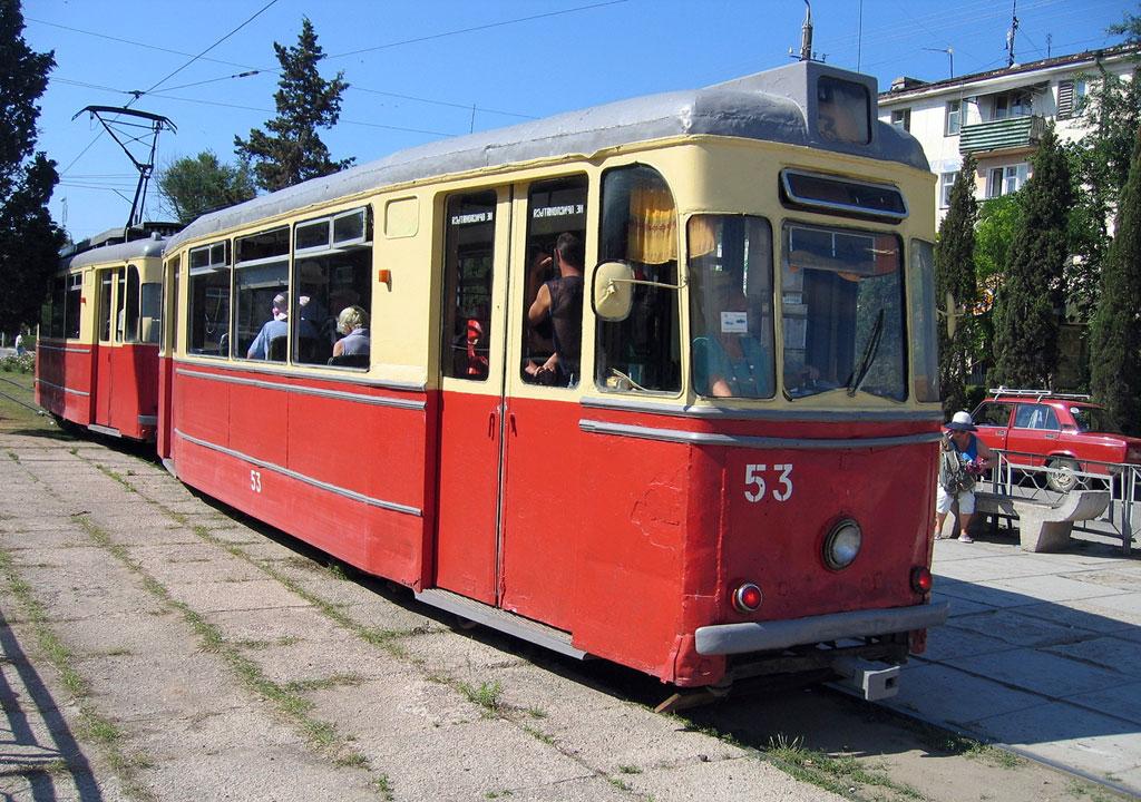 Евпатория. Gotha T57 №14, Gotha B57 №53