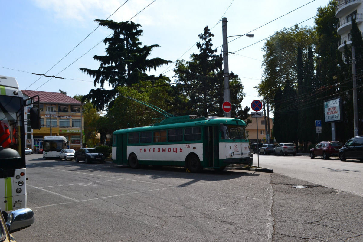 Алушта. Škoda 9TrH27 №7012