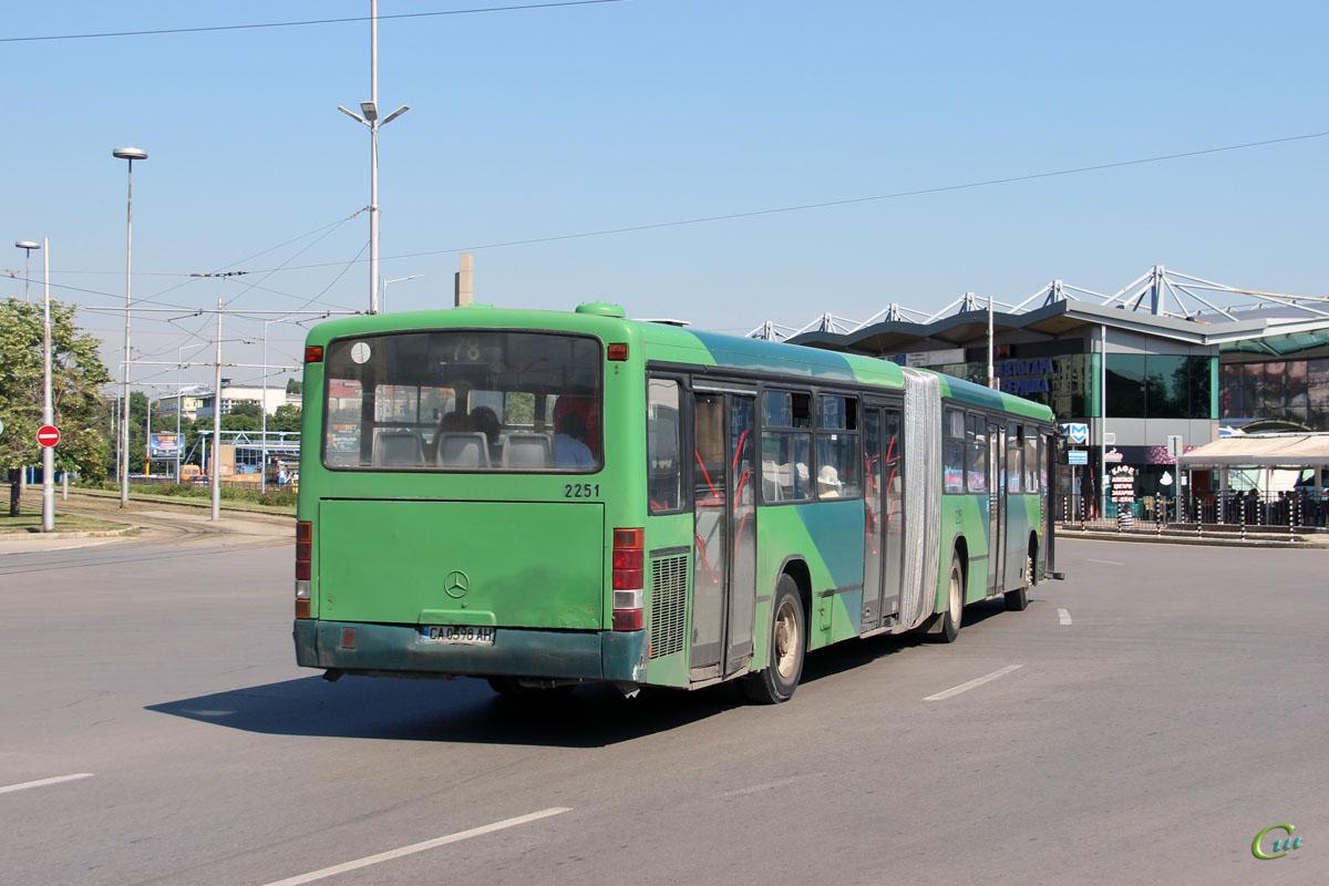 София. Mercedes-Benz O345G CA 0598 AH