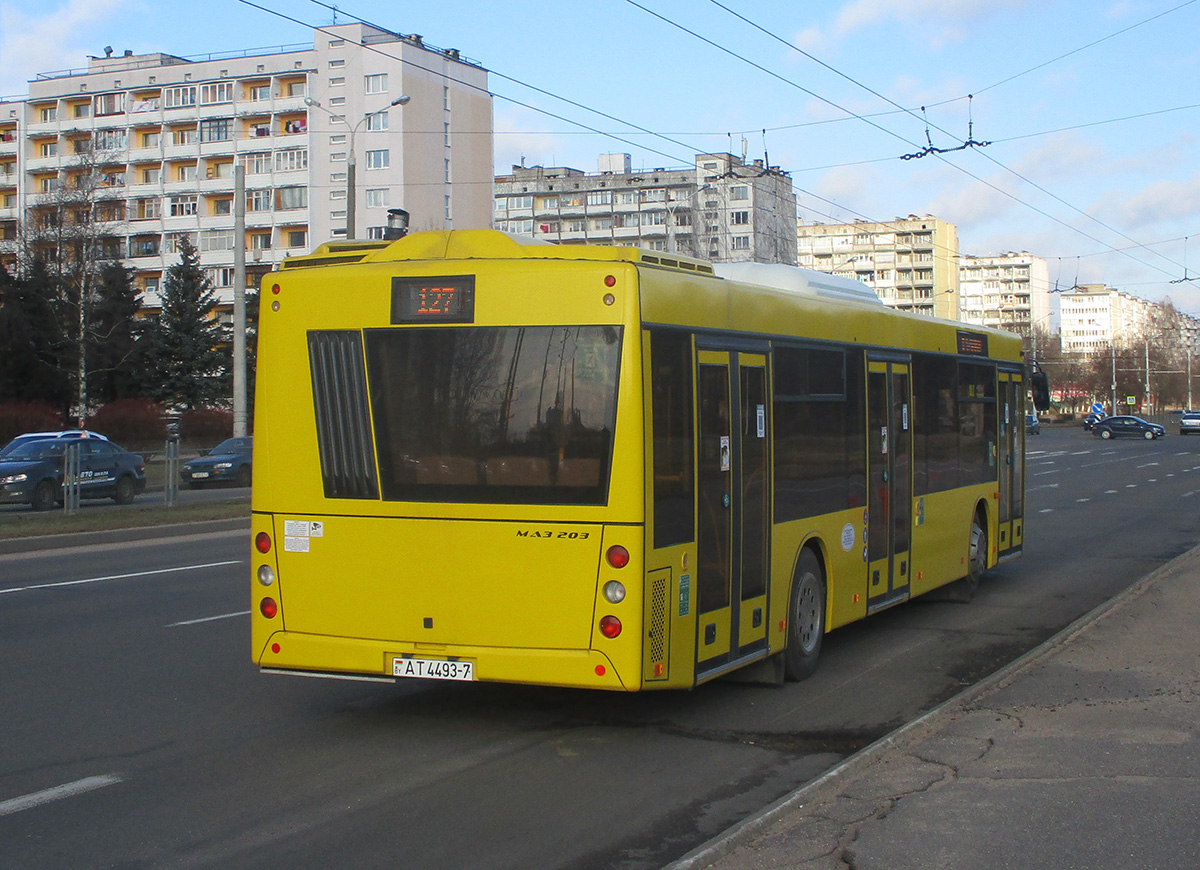 Минск. МАЗ-203.016 AT4493-7