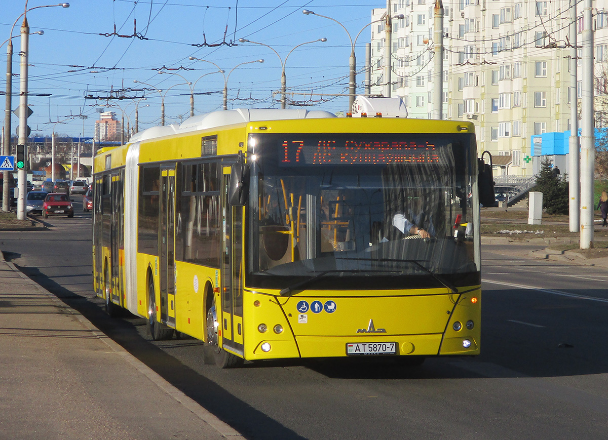 Минск. МАЗ-216.066 AT5870-7