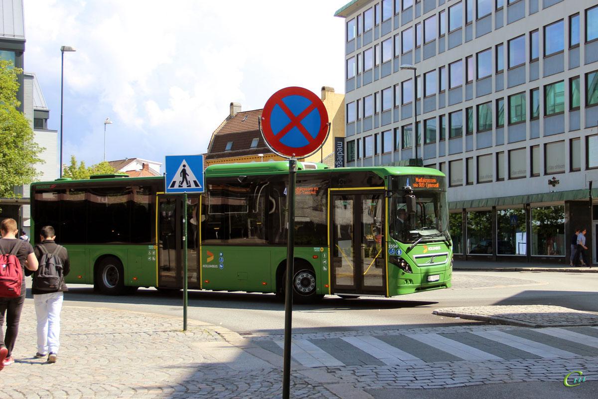 Ставангер. Volvo 8900LE RL 10388
