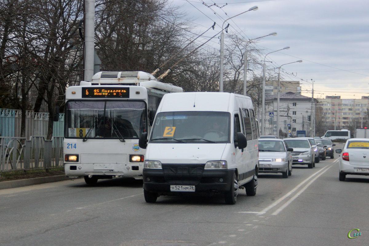 Ставрополь. БТЗ-52764Р №214, FIAT Ducato 244 н521нм