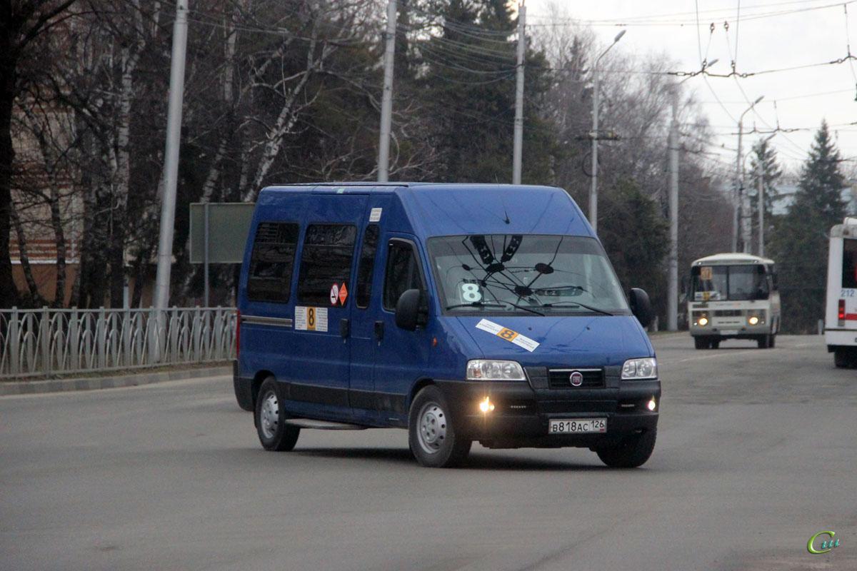 Ставрополь. FIAT Ducato 244 в818ас
