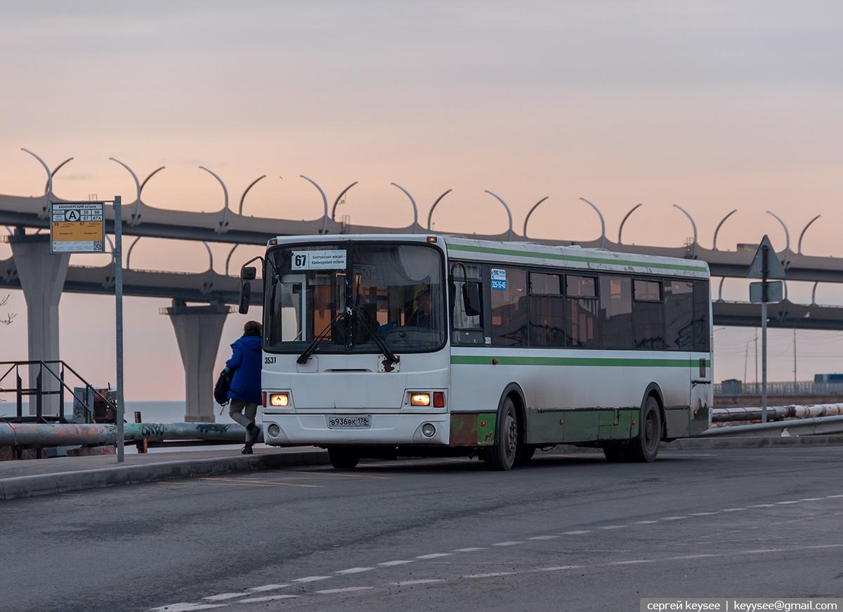 Санкт-Петербург. ЛиАЗ-5293.53 в936вк