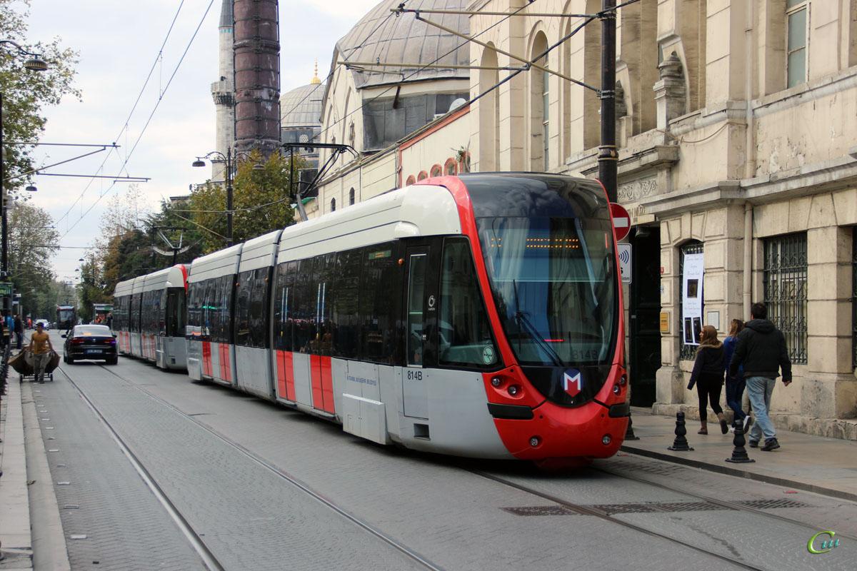 Стамбул. Alstom Citadis 301 №814