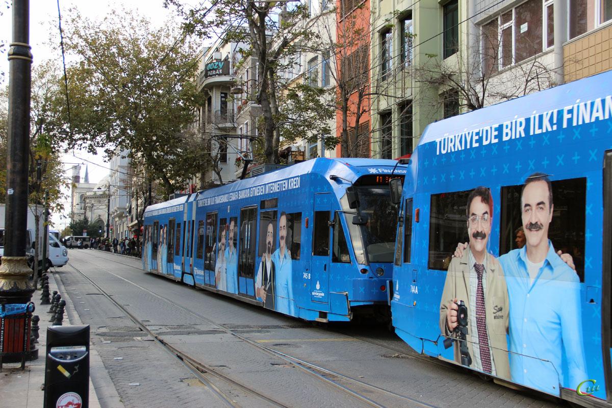 Стамбул. Bombardier Flexity Swift №745