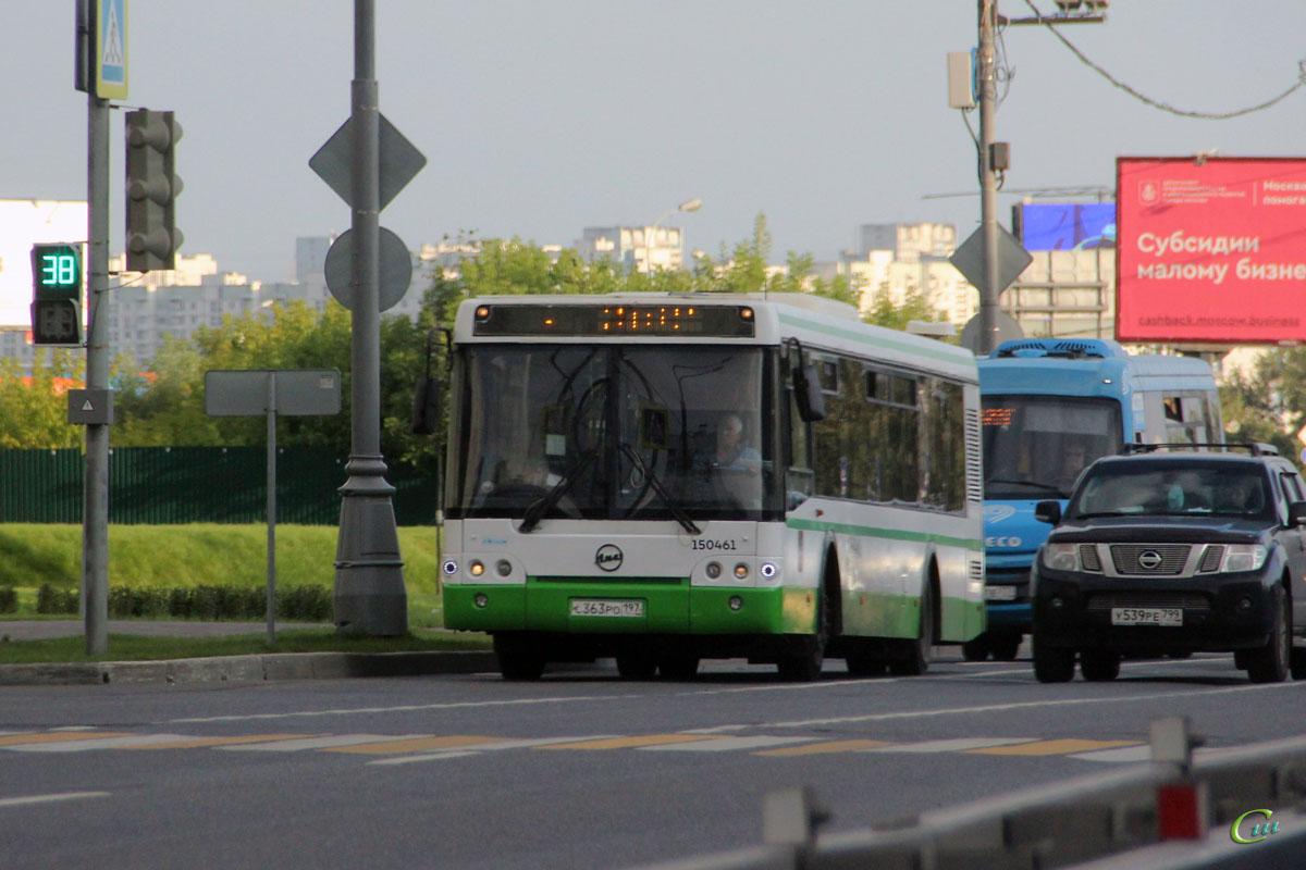Москва. ЛиАЗ-5292.21 с363ро